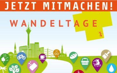 Wandeltage Düsseldorf – Banner für E-Mail und Webseite